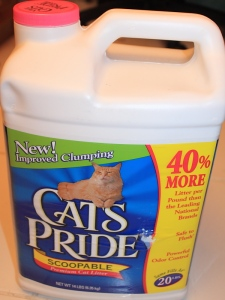 Cats's Pride cat liter