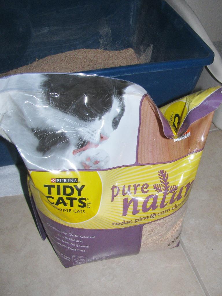 Tidy cats pure nature cat litter