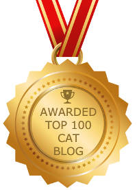 FeedSpot top 100 cat bloggers Award