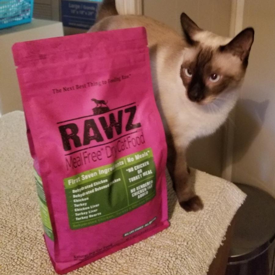 Rawz cat food